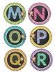 Monkey Letter Labels