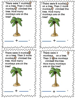 Word Problems Monkey Link Math