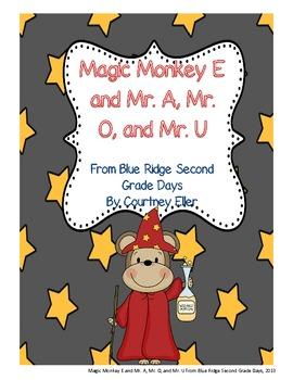 Monkey Magic E With Mr. A, Mr. O, and Mr. U