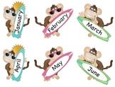 Monkey Match Abbreviation Literacy Center