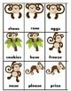Monkey Match Articulation - s & z