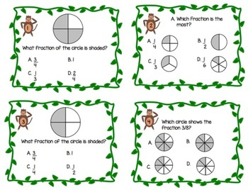 Monkey Math Fractions