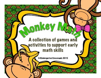 Monkey Math: Games and Activities to Support Early Number Skills
