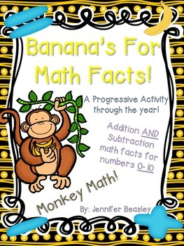 Monkey Math: Math Facts--A Progressive Activity