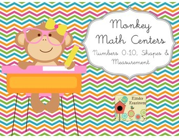 Monkey Math Stations