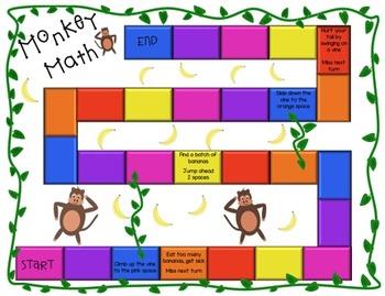 Monkey Math Story Problems