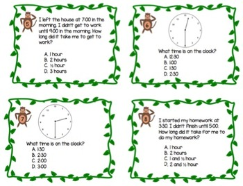 Monkey Math Time