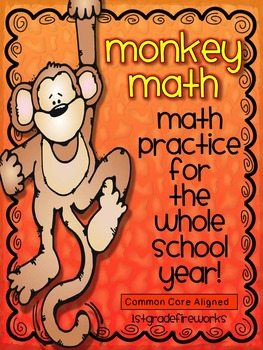 Monkey Math... for the ENTIRE YEAR!