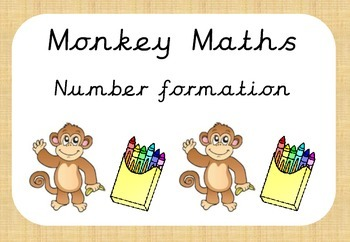 Monkey Maths Number Formation