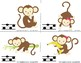 Monkey Melody Races--a game to practice melodic notation {sol mi la}