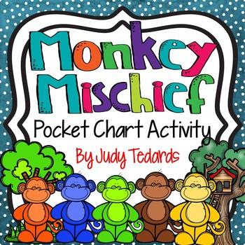 Monkey Mischief (A Pocket Chart Activity)