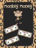 Monkey Money - Classroom Economy