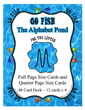 Monkey, Money and More ~ Letter M Focused Go Fish Card Game ~ Alphabet Extra