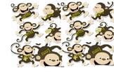 Monkey Name Labels