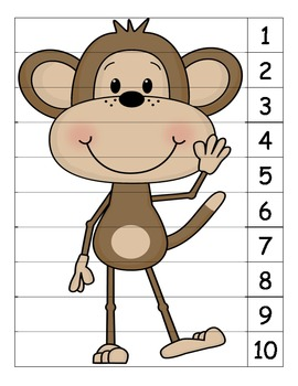 Monkey Number Puzzle 2