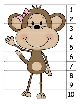 Monkey Number Puzzle 3