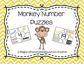 Monkey Number Puzzles {0 - 20}