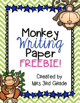 Monkey Paper FREEBIE