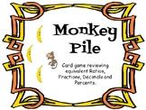 Monkey Pile (Ratio/Fraction/Decimal/Percent Card Game)