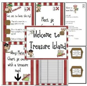 Monkey Pirate Meet the Teacher Packet