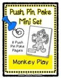 Monkey Play - Push Pin Poke No Prep Printables - 6 Picture