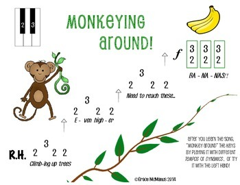 Monkey Primer Piano Music