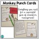 Monkey Punch Cards (Positive Behavior Incentive Program)