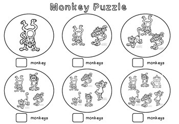 Monkey Puzzle Counting Sheet
