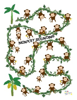 Monkey Rounding - Rounding to the nearest ten or hundred