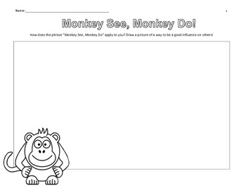 """Monkey See, Monkey Do!"" A Look at Peer Pressure and Influence (lesson)"
