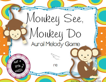 Monkey See, Monkey Do -- An Aural Melody Recognition Game {pentatonic}