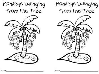 Monkey See, Monkey Do Pre-K and Kindergarten Literacy and Math Activities