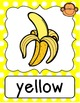Monkey Shape & Color Posters - Primary Polka Dot