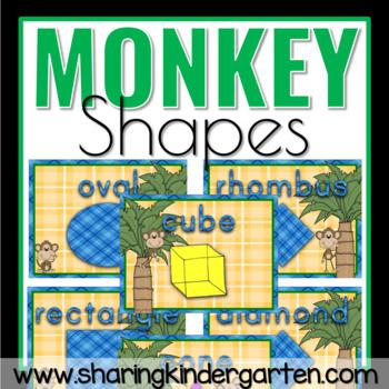 Monkey Shape Posters