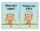 Monkey Story Organizer 5 W's