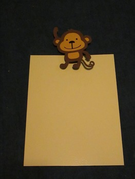 Monkey Student Display Clips