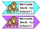 Monkey Tags - Welcome Tags - Gift Tags