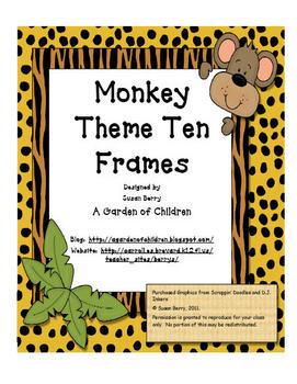 Monkey Ten Frames
