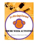 Monkey Theme Activities for Companion Book Week & Summer Camp