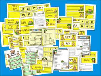 Monkey Theme Classroom Bundle