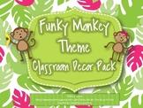 Monkey Theme Classroom Decor {Funky Monkey}