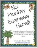 Monkey Theme Classroom Pack