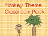 Monkey Theme Classroom Packet