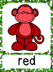Monkey Theme Color Word Posters (choice 2)