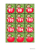 Monkey Theme Numbers 1-100 for Pocket chart