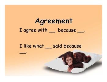 Monkey Themed Accountable Talk