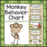 Monkey Decor: Behavior Clip Chart