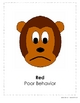 Monkey Themed Behavior Clip Chart AND Take Home Chart
