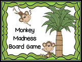 Monkey Theme Board Game {Editable!}
