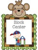 Monkey Themed Center Signs
